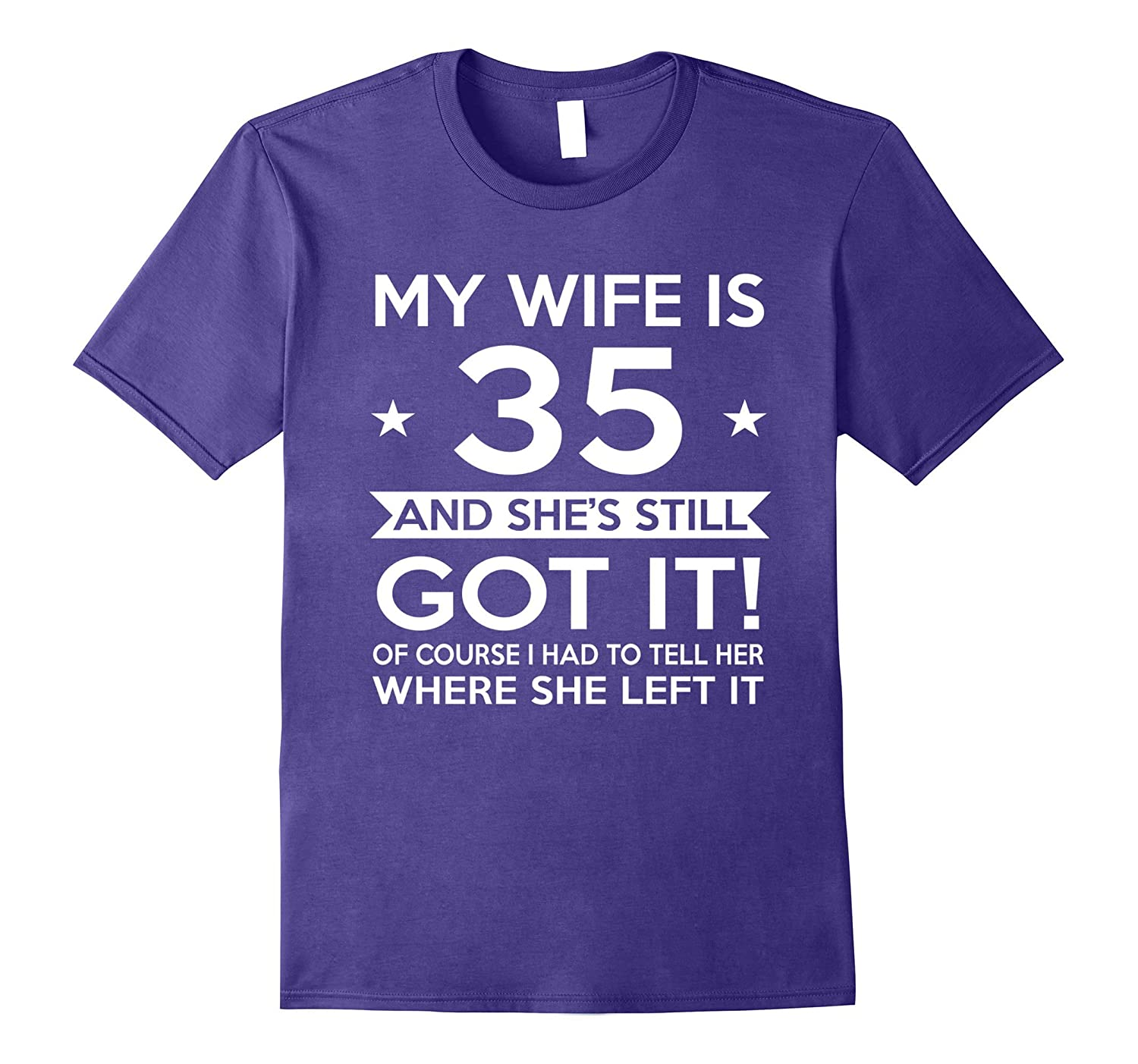 My Wife Is 35 35th Birthday Gift Ideas For Her Dalattee