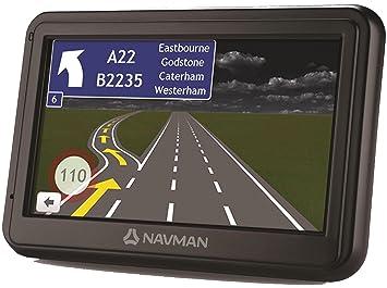 Navman 4000 LM Sat Nav FEU Car Navigation System - Black