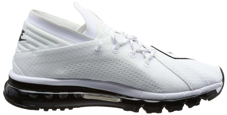 Amazon.com | Nike Air Max Flair Mens Running Trainers 942236 Sneakers Shoes (UK 9 US 10 EU 44, White Black 101) | Road Running