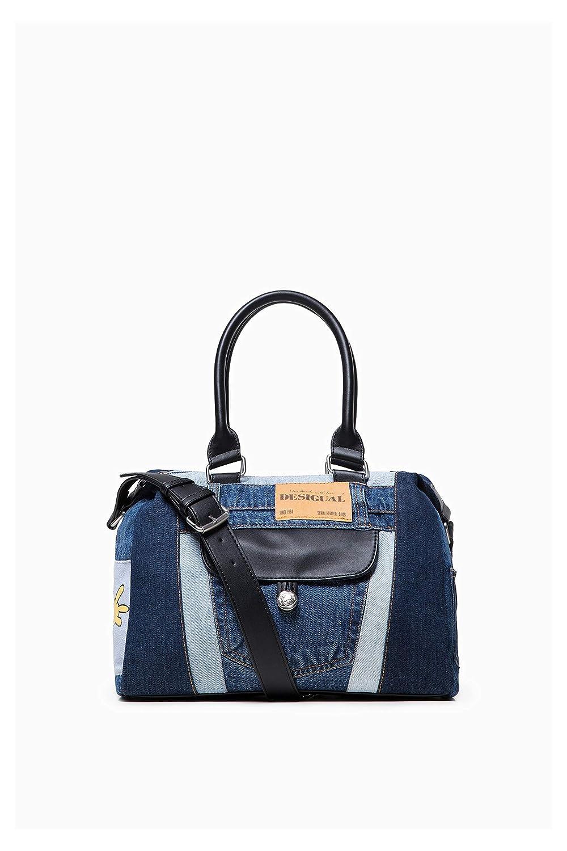 Desigual Borsa Denim Mickey Leeds 18WAXFBS 5006U Jeans Blu  Amazon.it   Abbigliamento 3c4d981f4a7