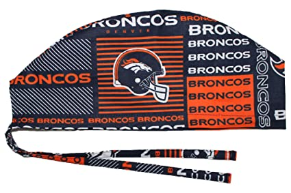 74cdafa74 Amazon.com : Hurricane Caps Scrub Cap, Denver Football : Sports Fan ...