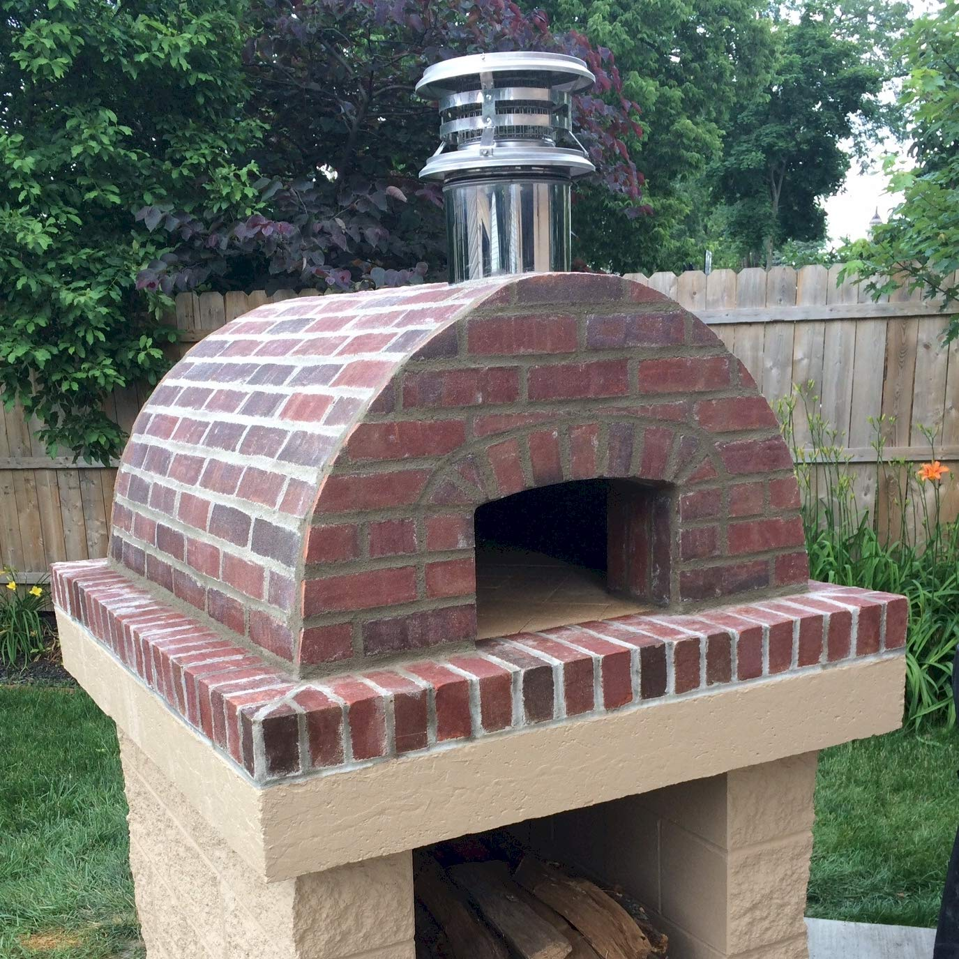 Pizza Oven Kit • Brick Oven - Build a Wood Fired Pizza Oven from Refractory Cement, Stainless Concrete Fibers and Our 5-Piece Cortile Barile Foam Pizza Oven Molds. Cast-N-Place/DIY-EZ!