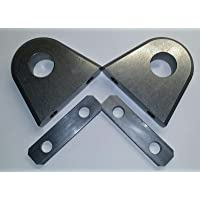 """Bolt on/Weld on Shackle/Clevis Mounts .750"""" Thick - JY.905B"""