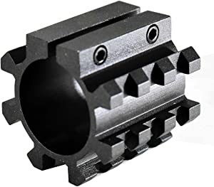 TRINITY Rail Mount for Remington Model 870 12ga Picatinny Weaver Base Sporting Optics Mount Aluminum Black Hunting Accessory Tactical Home Defense Upgrade Single Rail.