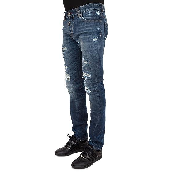 c656756558 Philipp plein - jeans so fast - p17cmdt0113pde018n2 - 33: Amazon.co ...