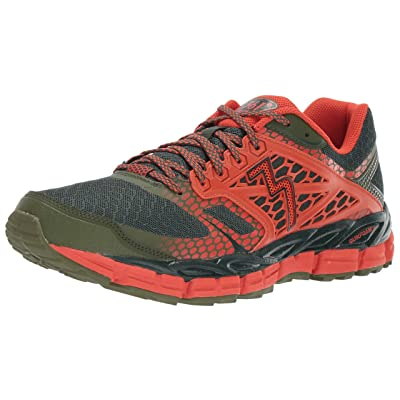 361° Men's Santiago-M Trail Runner, Cyprus/Poppy, 8.5 M US | Trail Running
