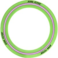 JaRu Air MAX Flex Grip Ring Flyer Green Frisbee Round Flying Disc Toy