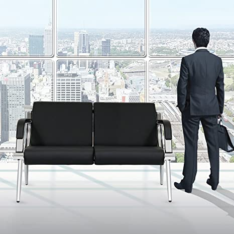 Amazon.com: kinbor muebles piel negro Executive lateral ...