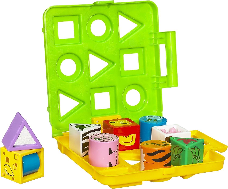 B002B555RK Playskool Blocksters Block Spot Farm Jungle 81qGvD7hA4L
