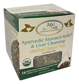 Ayurvedic Tea – Bolsas de té de pirámide de hojas enteras ...