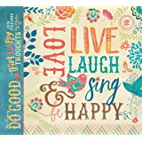 Legacy Publishing Group 2018 12-Month Wall Calendar, Do Good, Think Happy Thoughts