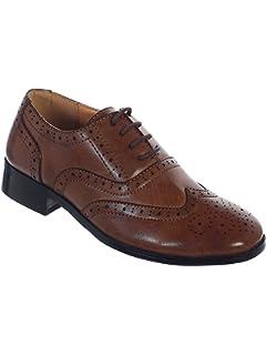 Amazon.com: JOSMO Zapatos de vestir de encaje Oxford para ...
