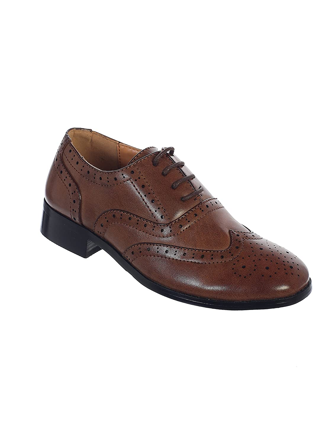 Lace-up Formal Oxford Style Special Occasion Dress Shoes