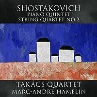Shostakovich:Piano Quintet [Takacs Quartet; Marc-Andre Hamelin] [HYPERION: CDA67987]