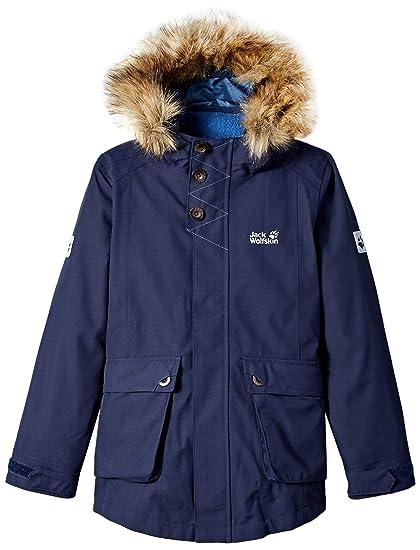 Jack Wolfskin Blau Island 3In1 Jacket Outdoorjacken Kinder
