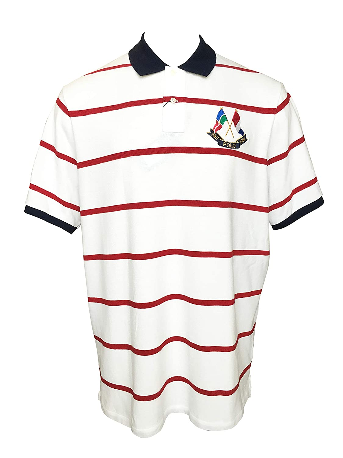 a5f51c68d1 Amazon.com: Polo Ralph Lauren Men's Big & Tall Polo Shirt Classic ...