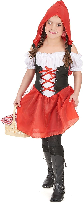 Disfraz caperucita roja niña - 4 - 6 años: Amazon.es: Juguetes y ...