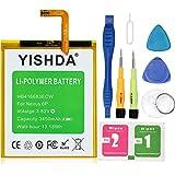 Nexus 6P Battery YISHDA 3450mAh Replacement Li-Polymer HB416683ECW Battery for Huawei Google Nexus 6P H1511 H1512 + Tools | Nexus 6p Battery Kit