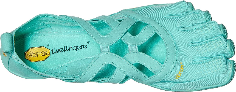 Vibram FiveFingers Alitza Loop, Chaussures Multisport Outdoor Femme Turquoise Mint