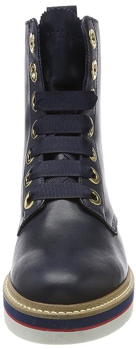 c3e531cc944983 Tommy Hilfiger Women s M1285anon 3a Biker Boots