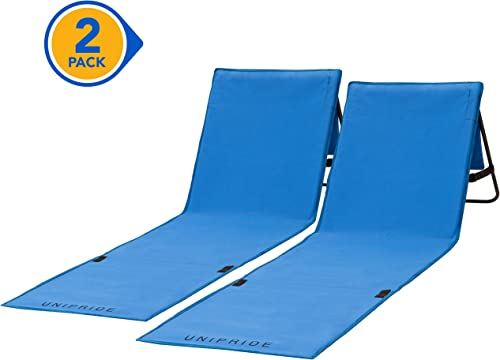 Beach Chairs Folding Lightweight Set of 2 – Camping Chairs For Adults, Chaise Lounge Lawn Chairs For Outdoor Relaxing and Sun Tanning Chair