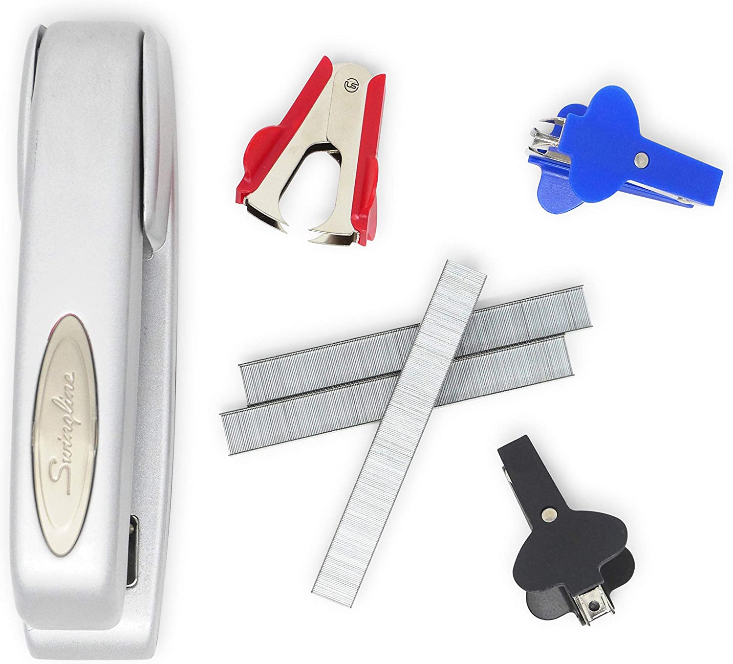 Heavy Duty Staple Remover Tack Lifter, Ultimate Stationery, Pinch Jaw Style, 3 Pack : Office Products
