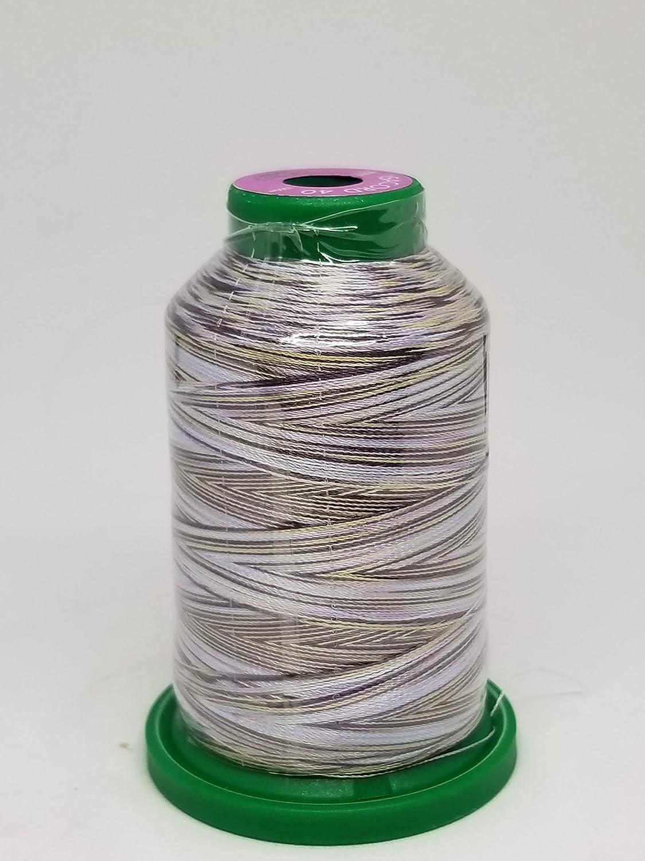Isacord Embroidery Thread Variegated 9923 Rasberries /& Cream
