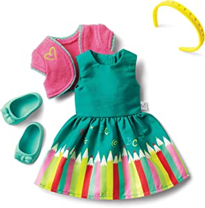 American Girl WellieWishers Colorful ABCs Outfit for 14.5