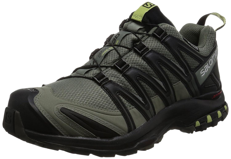 [サロモン] トレッキングシューズ XA PRO 3D CS 防水 登山靴 L39333300 B01HD6TVKI 11.5 D(M) US Castor Gray/Black/Ferns