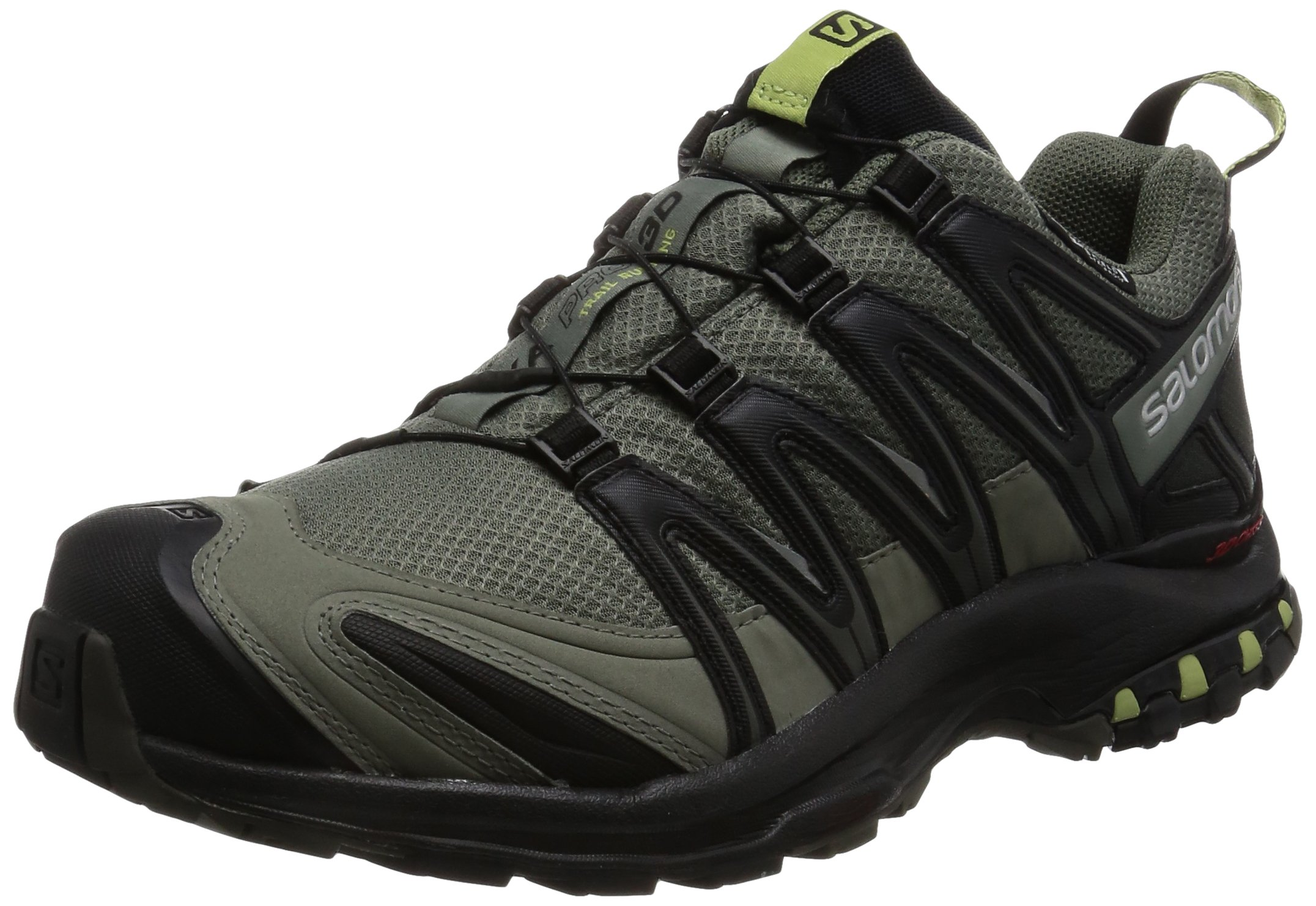 Salomon Men's XA Pro 3D CS Waterproof Trail-Runners, Castor Gray, 9 M US