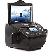 Scanner Kenro - 4-en-1 - Crée des copies numériques de vos négatifs, de vos diapositives et de vos photos - KNSC301