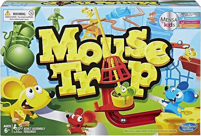 Hasbro Gaming Mouse Trampa Juego: Amazon.es: Juguetes y juegos