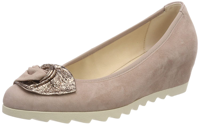 Gabor Shoes Gabor Basic, Zapatos de Tacón para Mujer 40.5 EU|Multicolor (Engl.rose)