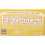 Dr. Bronners Bar Citrus Orange 5oz Soap (2 Pack)