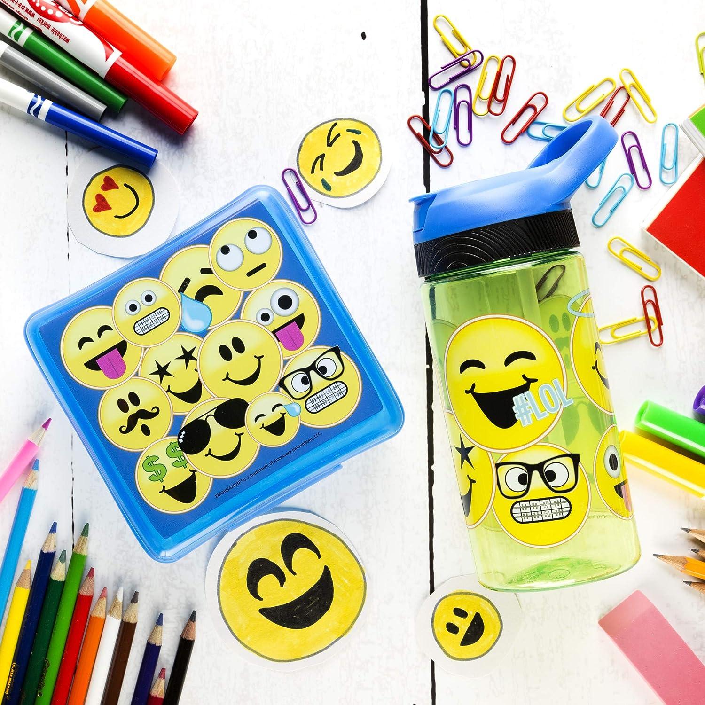 Emoticons EJNF-S890 Zak Designs Emojination 19 oz Plastic Water Bottle