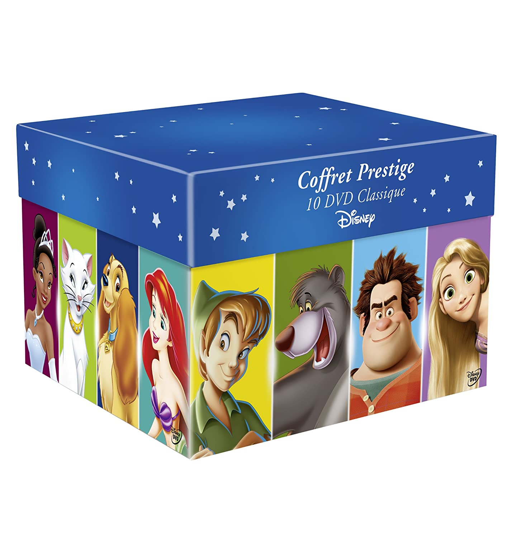 coffret disney noel 2018 Coffret Grands Classiques Disney   10 DVD   Edition Speciale  coffret disney noel 2018