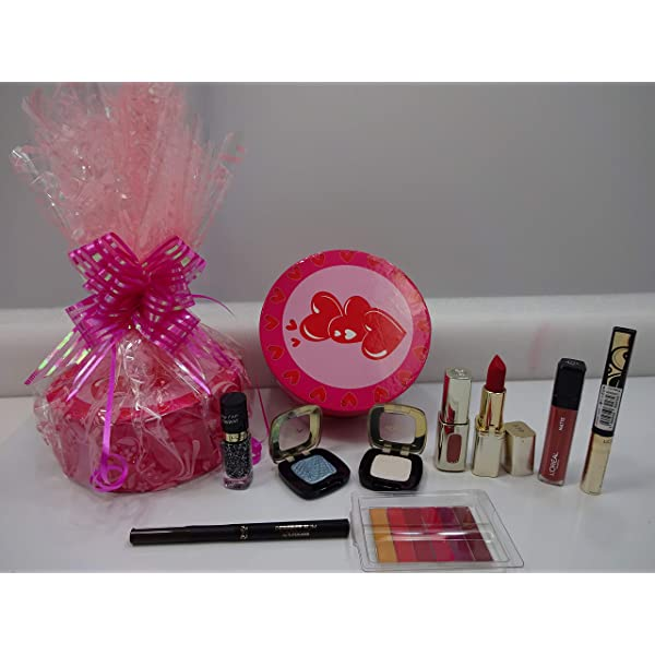 LOreal Beauty Bundle Cesta de regalo para mujeres, LOreal Maquillaje Set: Amazon.es: Belleza