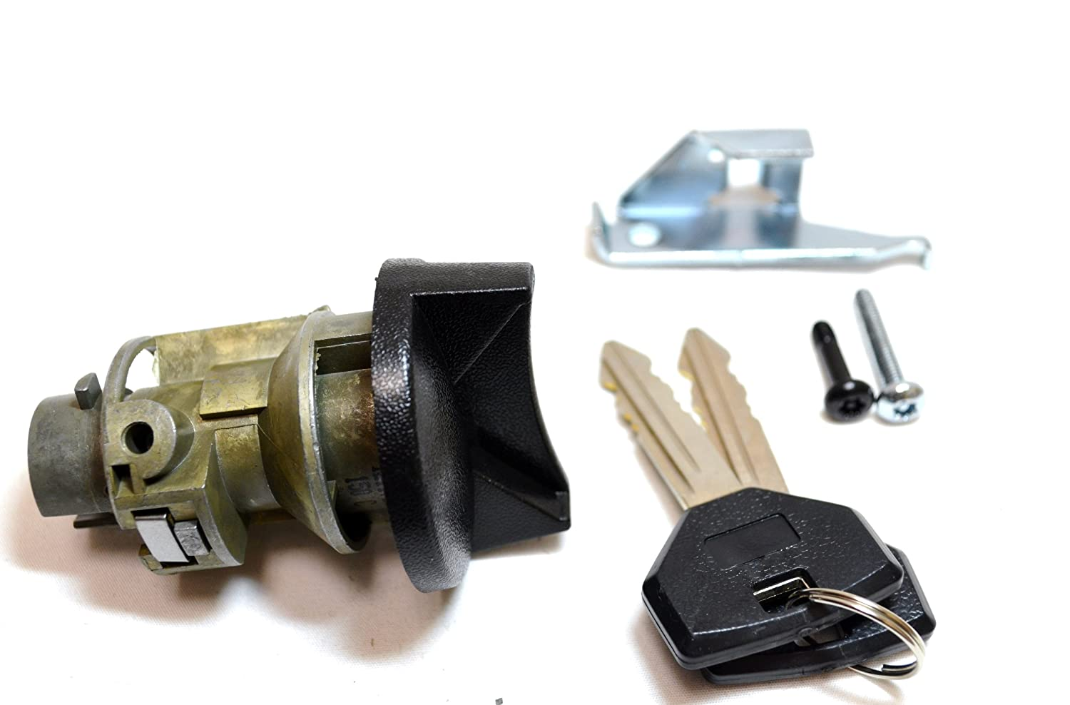 Ignition Lock Cylinder with Keys PT Auto Warehouse ILC-163L