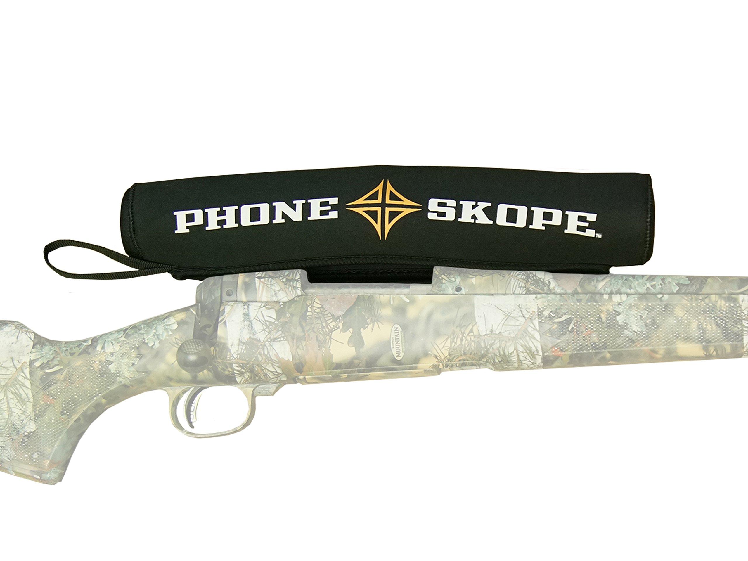 Phone Skope Neoprene Rifle Scope Cover Easy On Easy Off 17''-21'' (Large) by Phone Skope