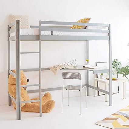 WestWood Bunk Bed 3FT Wood Wooden Frame Children Sleeper No Mattress Single New