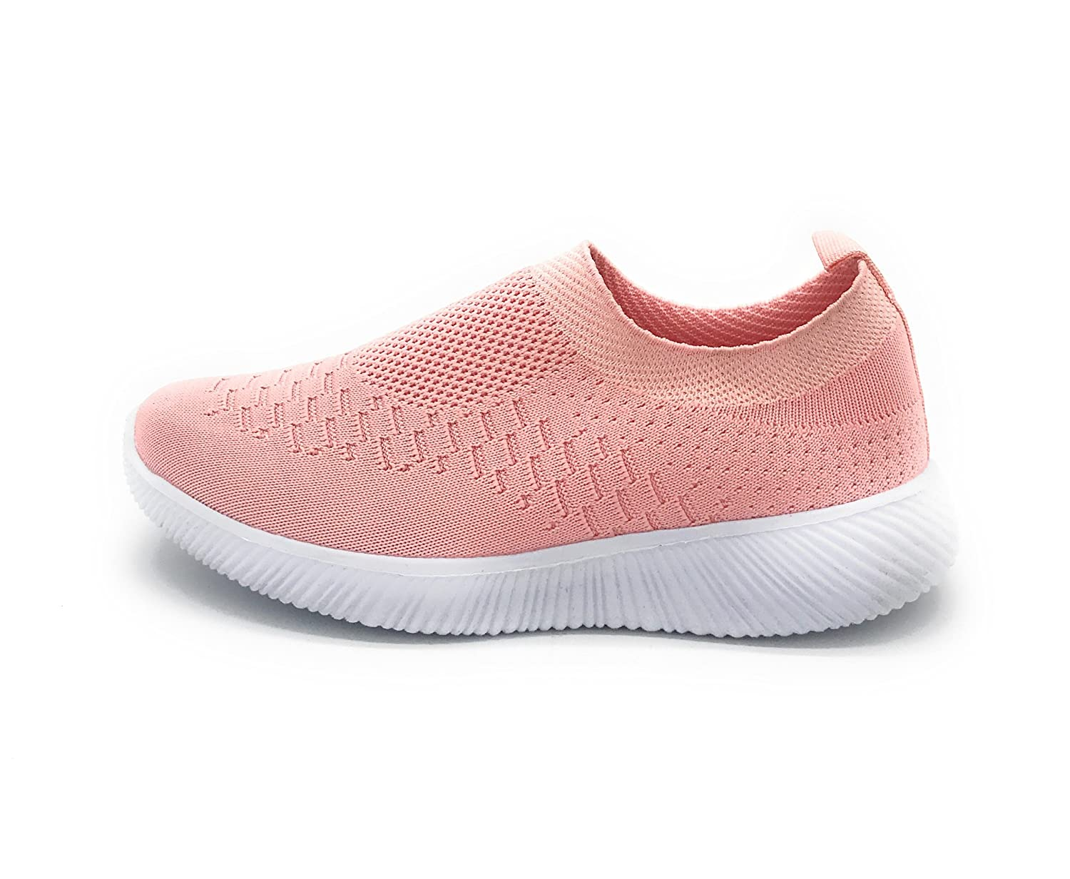 Blue Berry EASY21 Kids Breathable Fashion Slip-On Flyknit Athletic Sports Shoes