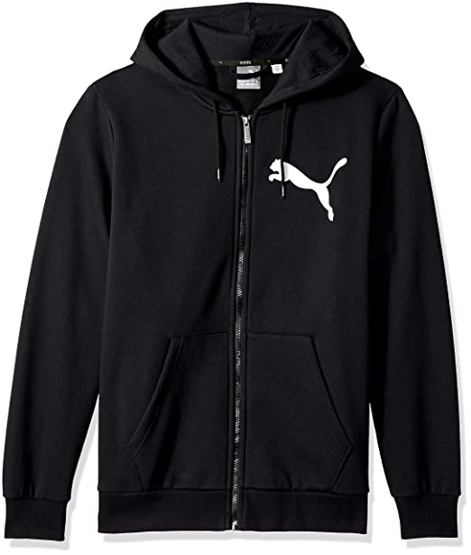 34faa01452d9f PUMA Men's Big Logo Full Zip Hoody