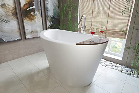 Vasca Da Bagno Stile Giapponese : Aquatica true ofuro libera installazione pietra giapponese ammollo