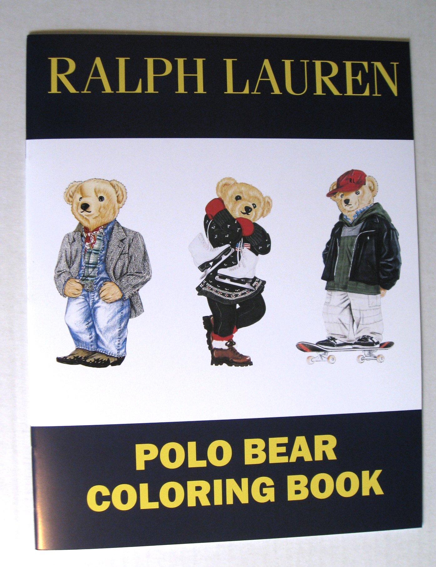 Ralph Lauren Polo Bear Coloring and Sticker Book: Ralph Lauren ...
