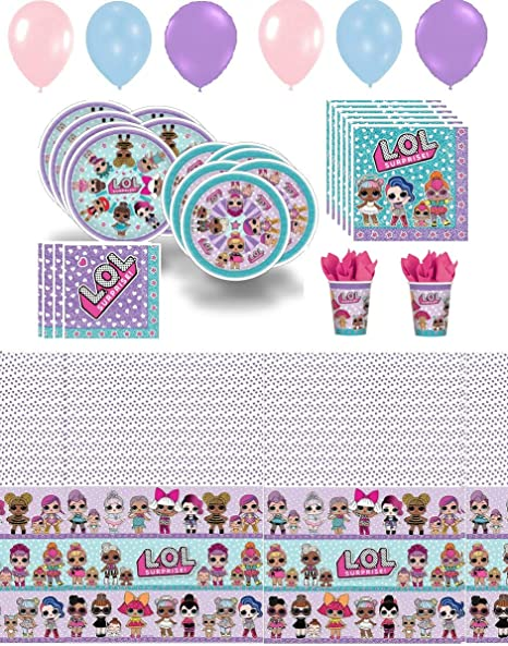 Amazon Lol Party Supplies Girl Birthday Decorations Cups
