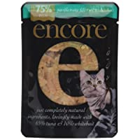 Encore Cat Food Pouch Tuna and Whitebait, 70g, Pack of 16