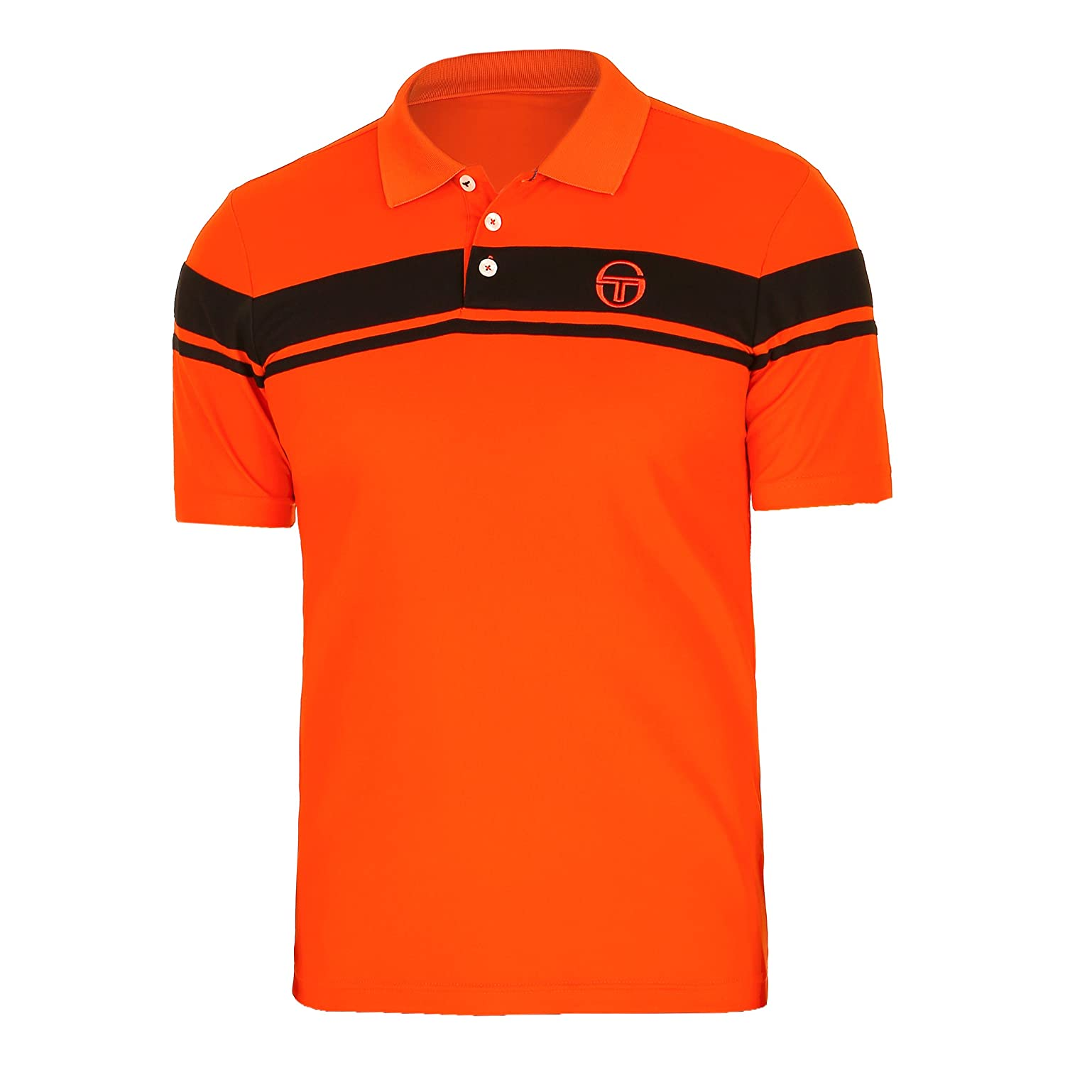 Sergio Tacchini Young Line Pro Polo Men hw17, small: Amazon.es ...