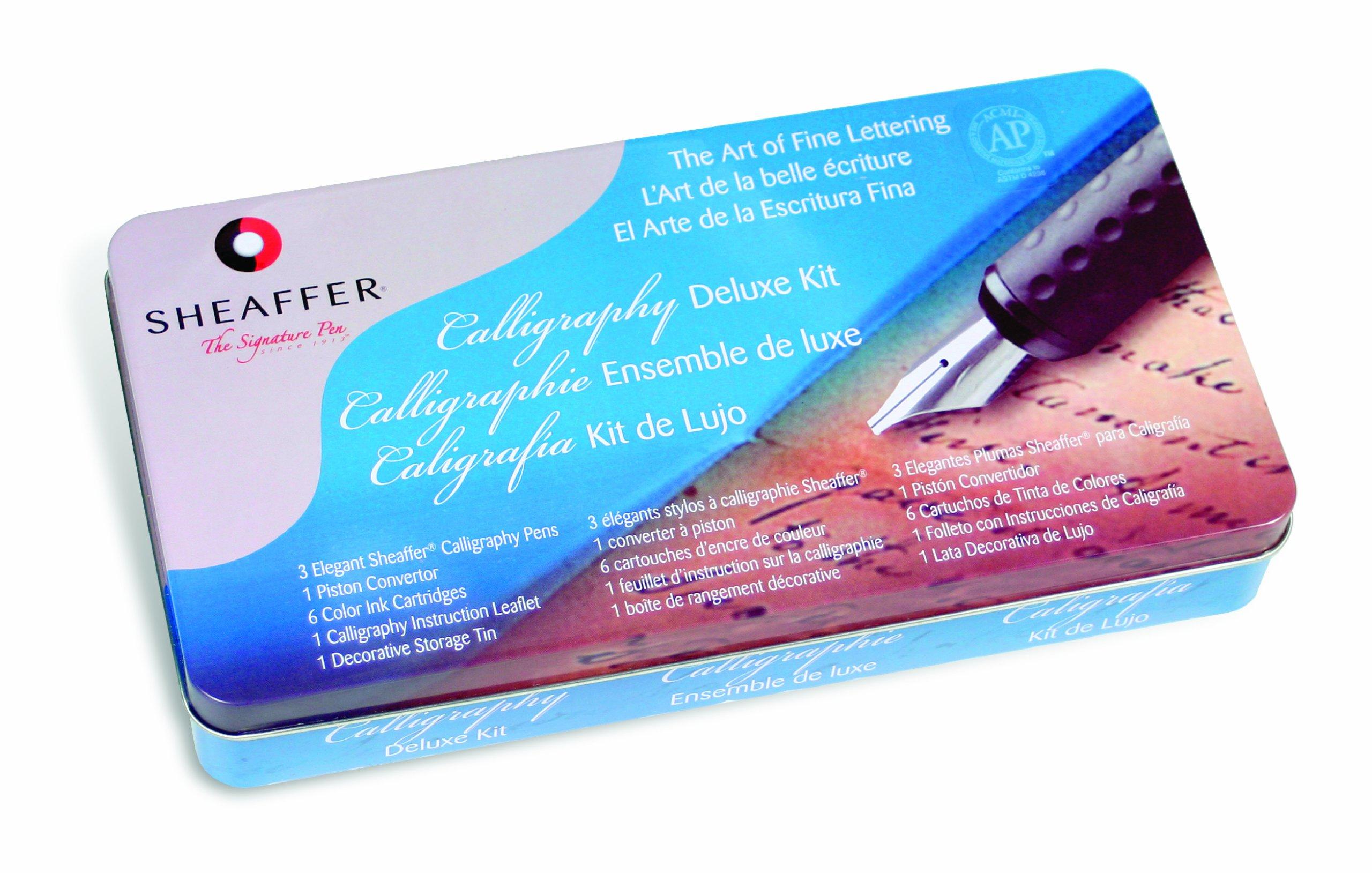 Sheaffer Calligraphy Deluxe Tin Kit (SH/10033)