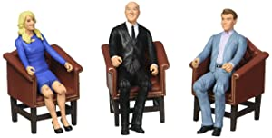 Shark Tank Kevin, Lori, Robert 3 3/4-Inch Figures-Con. Excl.