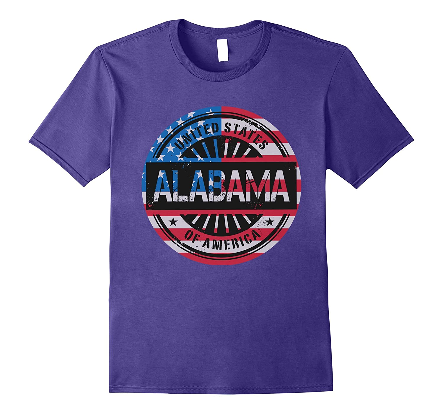 Alabama US flag Shirt-CL